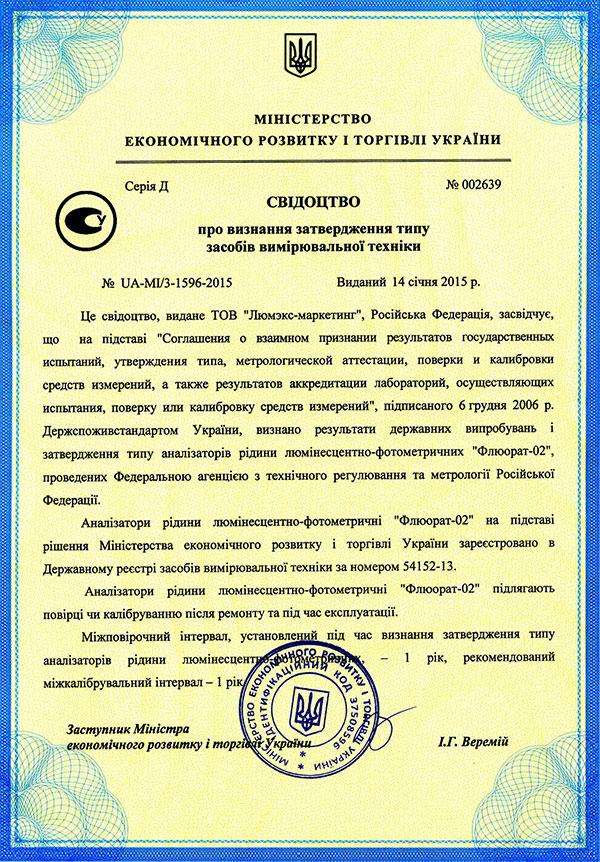 Флюорат-02-5м Руководство По Эксплуатации - фото 2